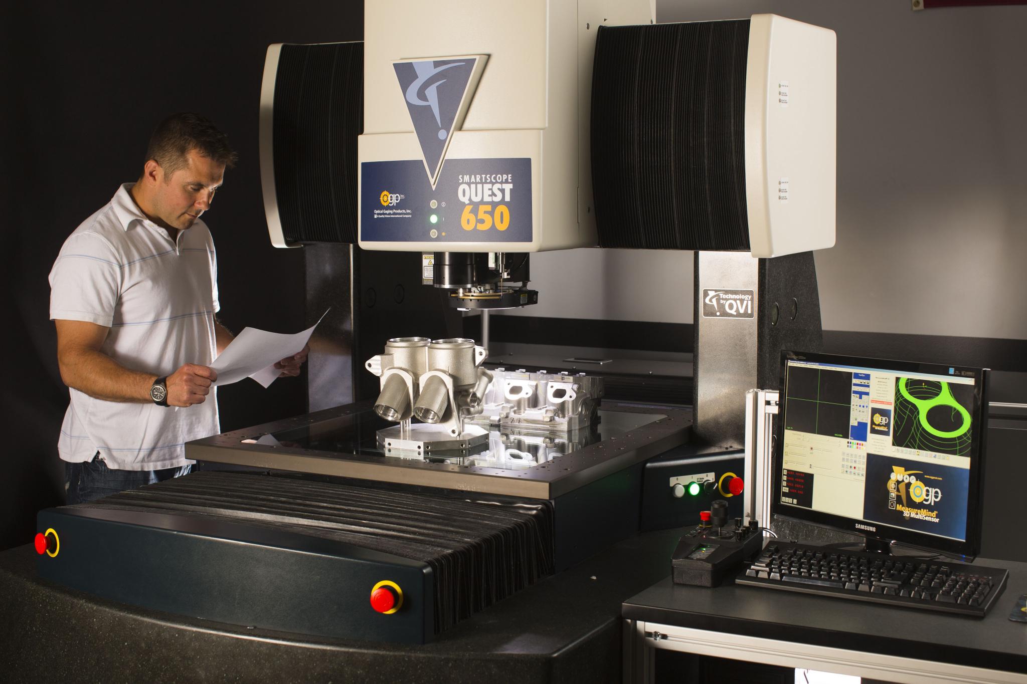 Machine de mesure tridimensionnelle optique Smartscope