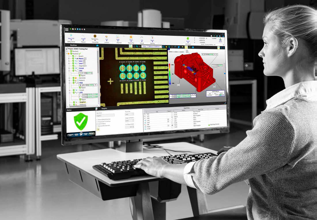 Découvrez nos logiciels disponibles sur votre machine de mesure 3D Smartscope