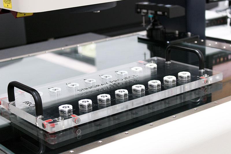 Fourniture de posages &  programmes avec la machine